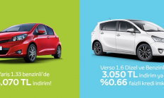 Mayıs Ayı Toyota Yaris ve Toyota Verso Kampanyası