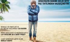 Renault Yaz Tatilinden Vazgeçmeyin Kampanyası