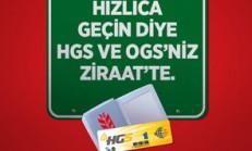 2014 Ziraat Bankası Ücretsiz HGS Ve OGS Kampanyası