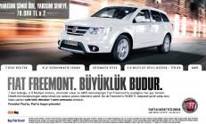 Fiat Freemont Mayıs Ayı Kampanyası