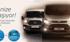 Ford Ticari Araçlarda Hediye Kampanyası