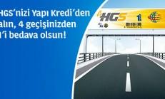 Yapı Kredi HGS Kampanyası