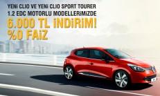 2014 Yeni Clio ve Yeni Clio Sport Tourer %0 Faiz Kampanyası
