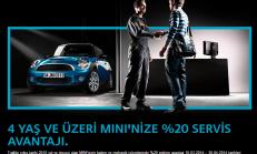 2014 Mini 4 Yaş ve Üzeri Araçlara Servis Kampanyası