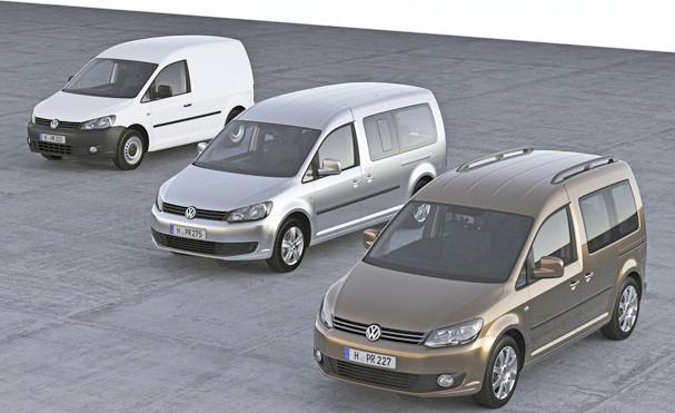 Volkswagen Caddy 2015 Renk Seçenekleri