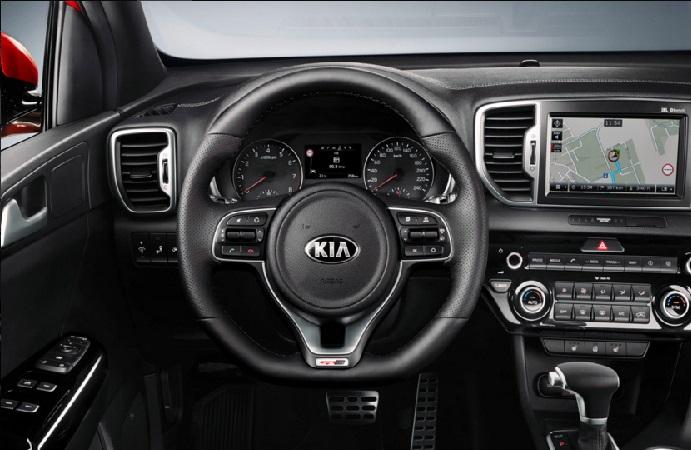 Kia Sportage İc tasarım 2016