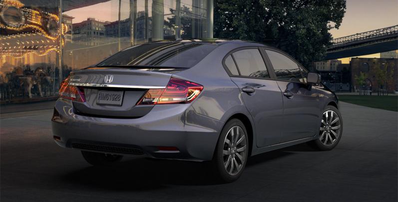 2015 Honda Civic Sedan Renk Seçenekleri