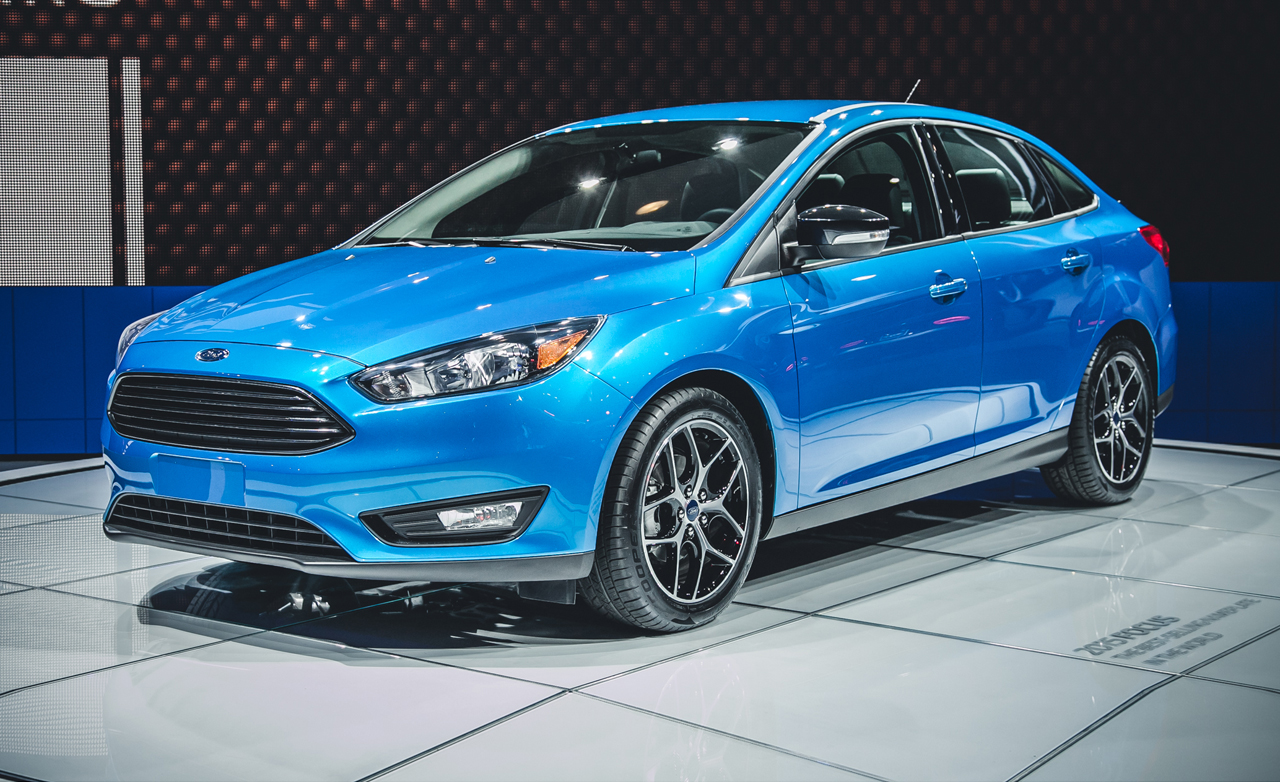2016 Model Ford Focus Sedan