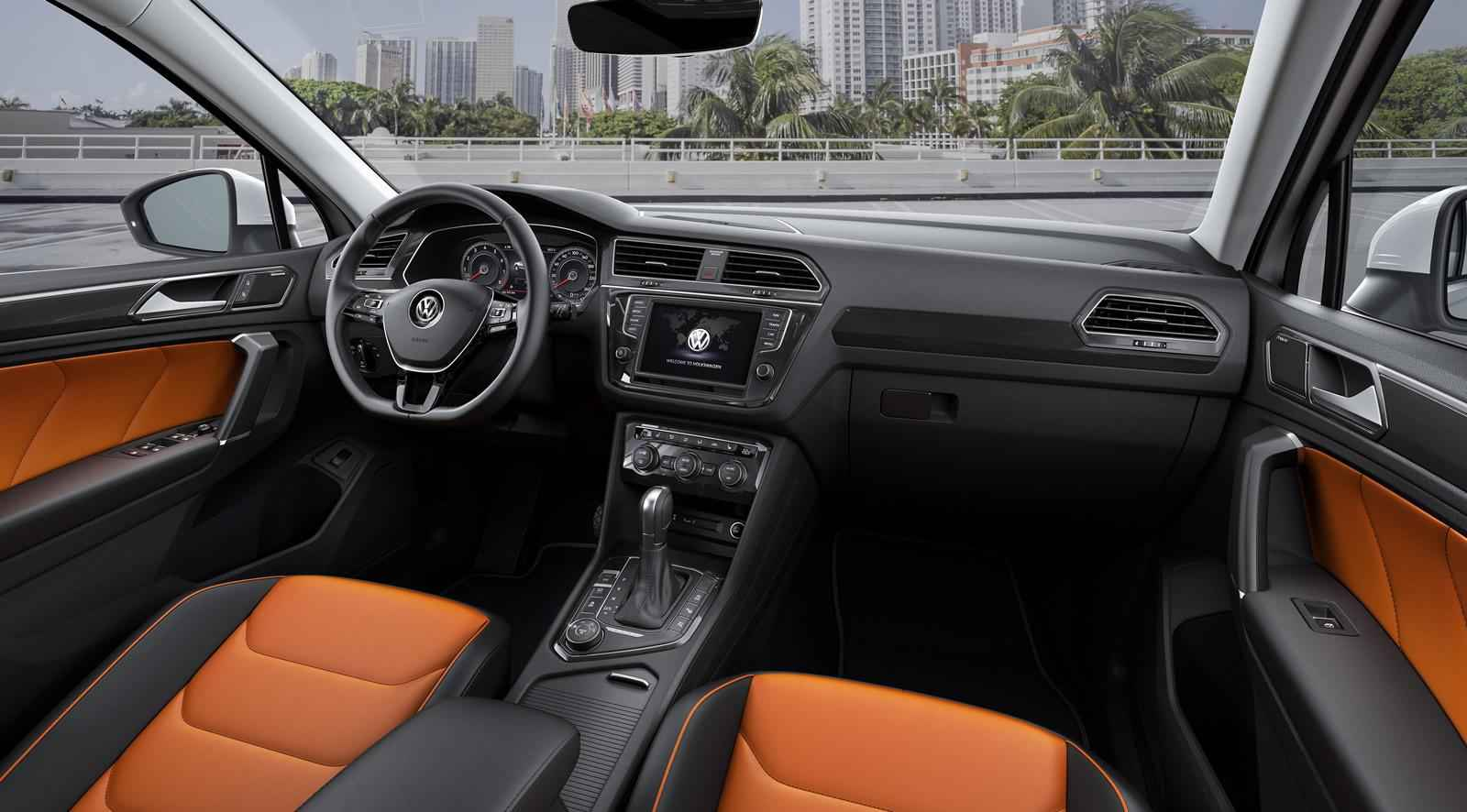 2016 Volkswagen Tiguan R-Line İç Tasarım