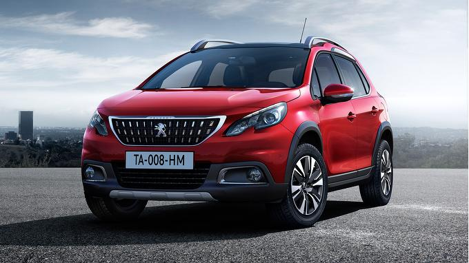 2016 Peugeot 2008 Crossover Renk Seçenekleri