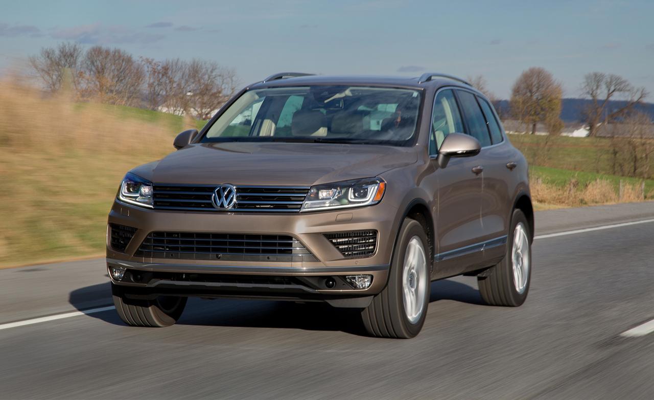 2016 Model Volkswagen Touareg