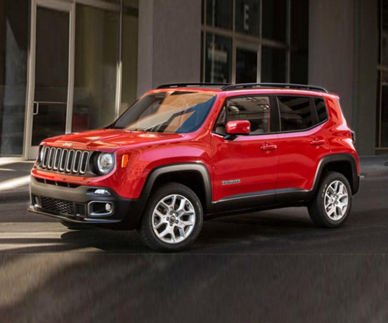 2016 Model Jeep Renegade